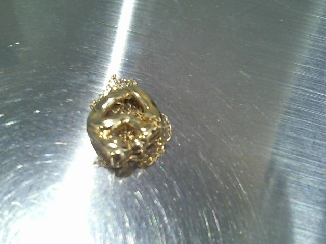 Gold Pendant 14K Yellow Gold 2.3g
