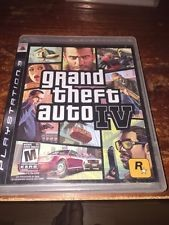 SONY PS3 GRAND THEFT AUTO IV
