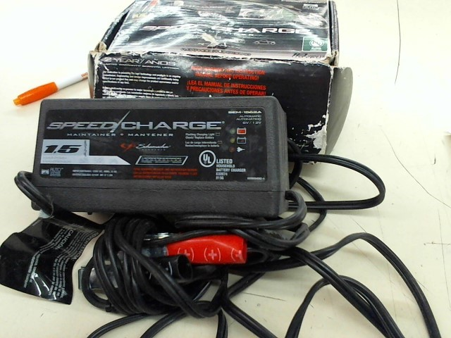 SPEED CHARGE Battery/Charger BATTERY CHARGER