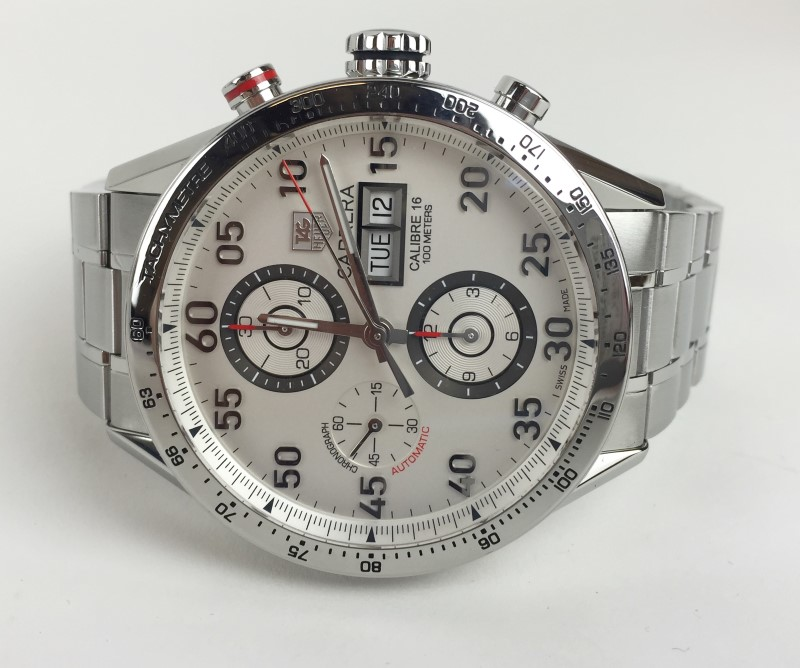 TAG HEUER Gent's Stainless Steel Automatic CV2A11 CARRERA Chronograph