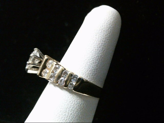 Lady's Diamond Fashion Ring 17 Diamonds 1.58 Carat T.W. 14K Yellow Gold 6.8g