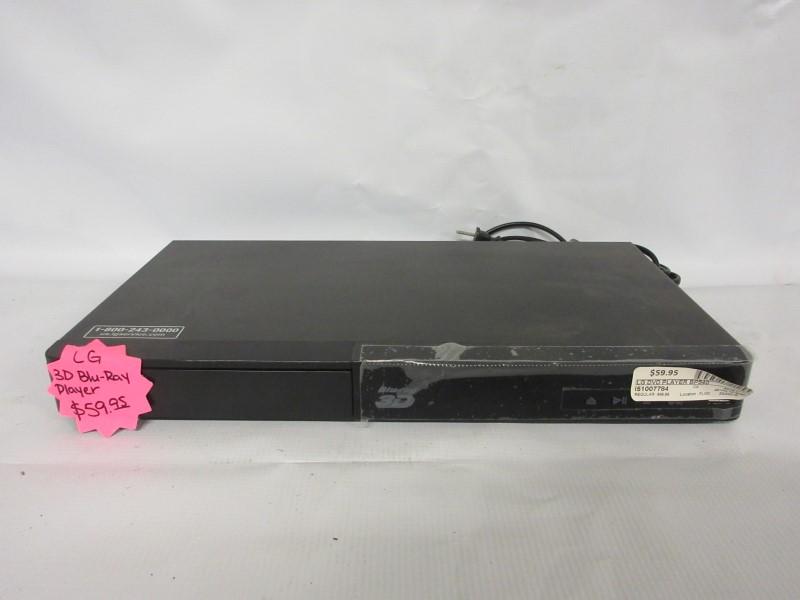 LG 3D Bluray Player BP540
