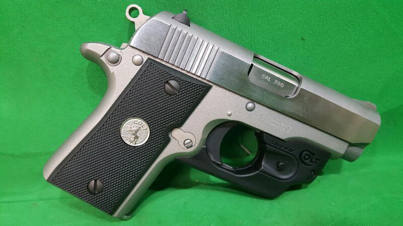 "Colt O6891 Mustang 380 Pocketlite 380ACP 2.75"" 6+1 W/Lasermax Laser"