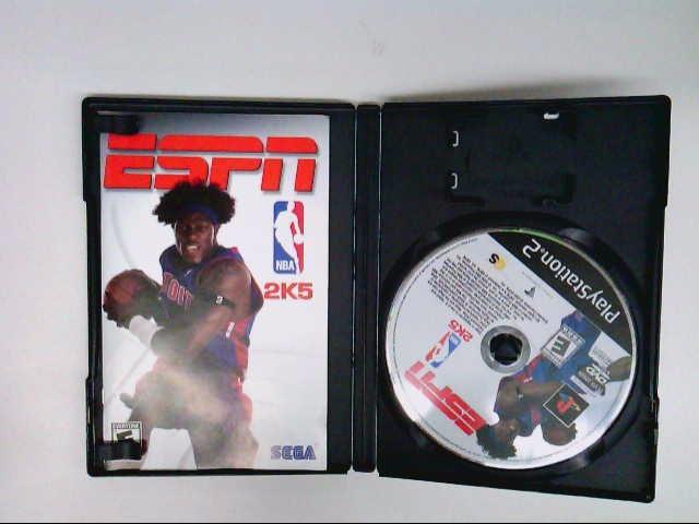 SONY PS2 NBA 2K5