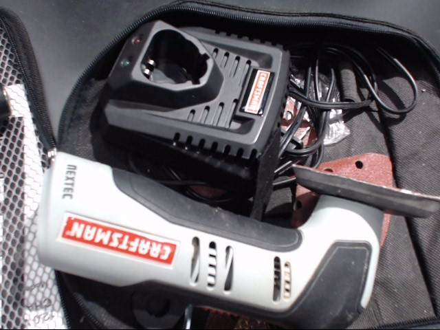 CRAFTSMAN DRILL/DRIVER AND SANDER CORDLESS NEXTEC SET S#S1111@Q 19679  AND S1131