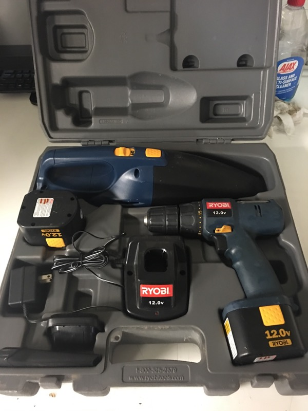 RYOBI Cordless Drill HP1202M