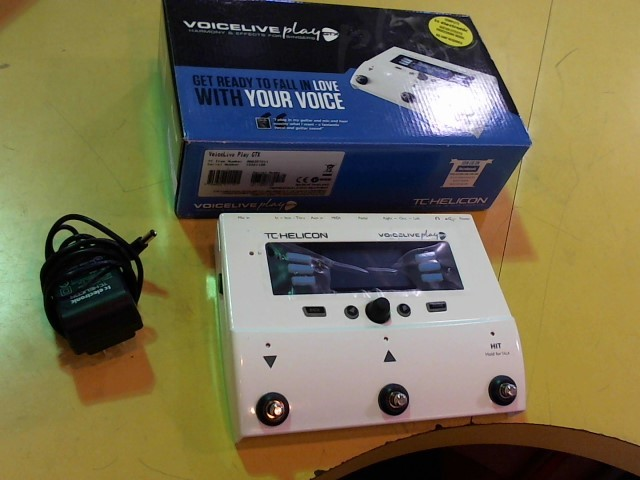 TC ELECTRONIC Effect Equipment VOICELIVE PLAY GTX