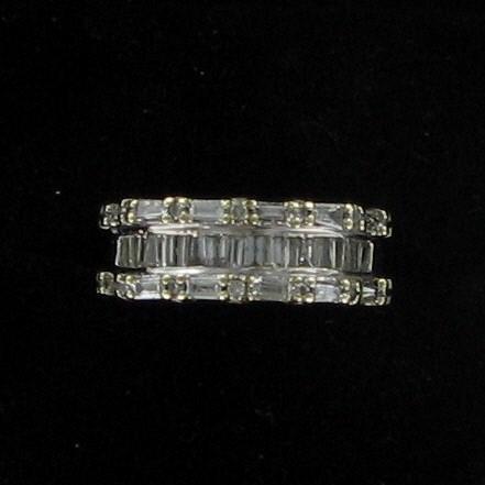Lady's Diamond Fashion Ring 20 Diamonds .20 Carat T.W. 10K Yellow Gold 2.5dwt
