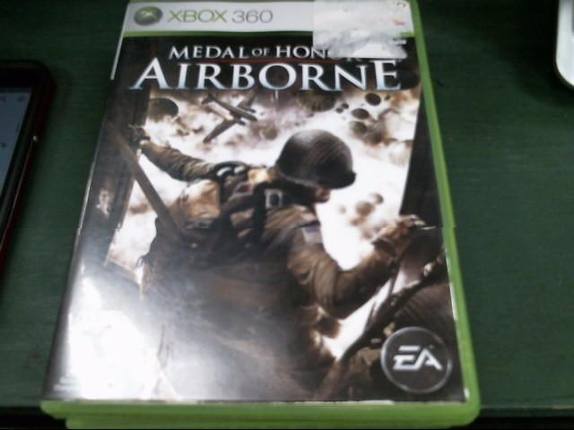 MICROSOFT Microsoft XBOX 360 Game MEDAL OF HONOR: AIRBORNE