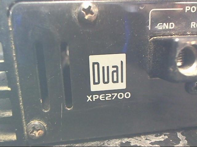 DUAL ELECTRONICS Car Amplifier XPE2700