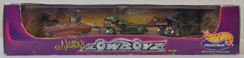 HOT WHEELS: ED NEWTON'S LOWBOYZ CAR SET