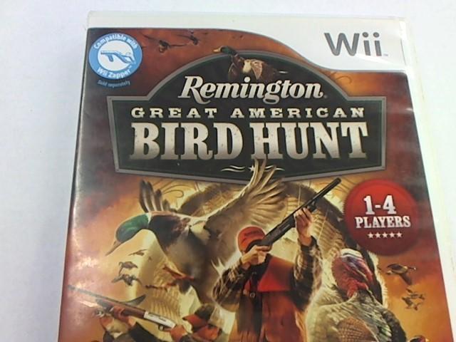 WII REMINGTON GREAT AMERICAN BIRD HUNT