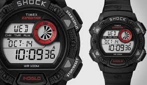TIMEX GENT'S WATCH SHOCK INDIGLO