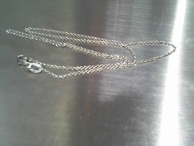 Gold Chain 14K White Gold 1.7g