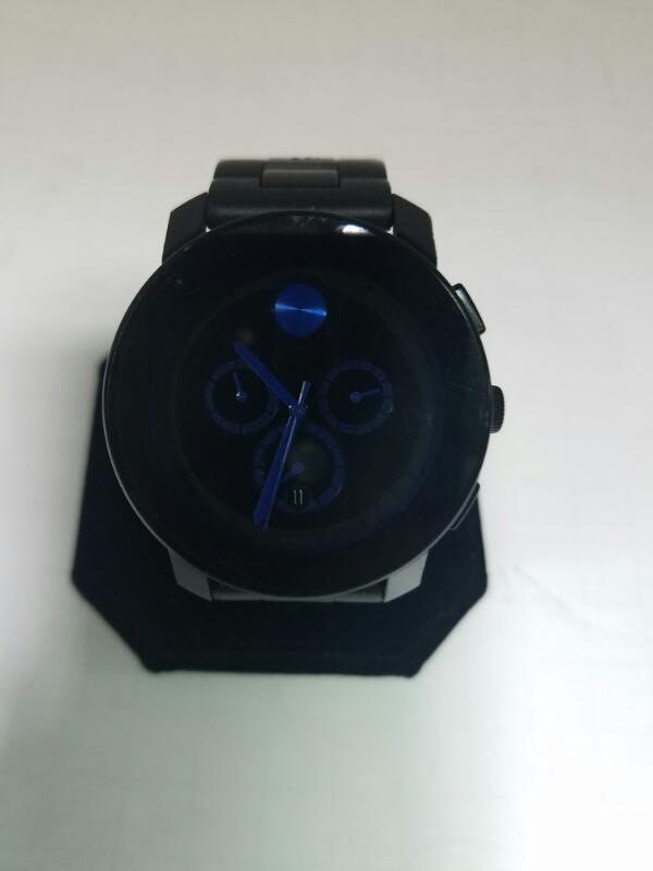 MOVADO BOLD GOLD/SILVER WATCH PLATED   72.2KMNS #3 WATCH