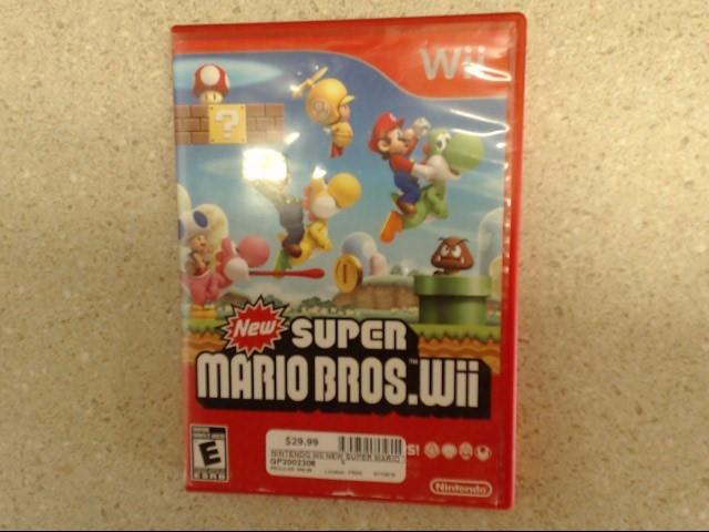 NINTENDO Nintendo Wii NEW SUPER MARIO BROS. WII