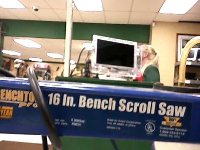 BENCHTOP Scroll Saw 16INCH SCROLL SAW