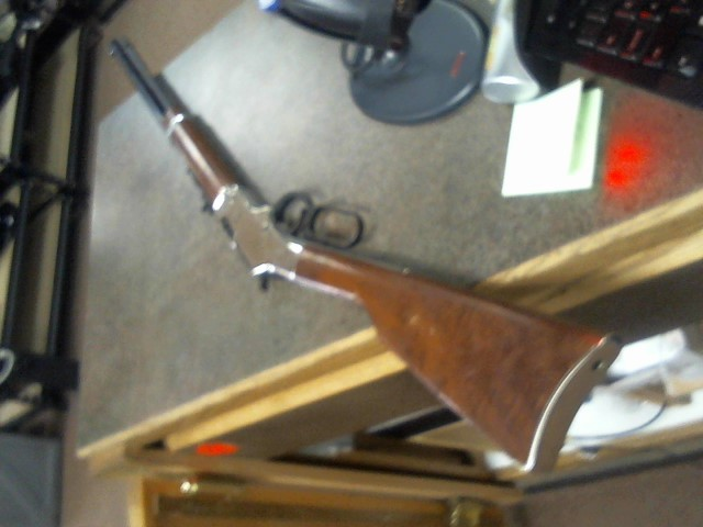HENRY REPEATING ARMS Rifle GOLDEN BOY SILVER 22LR .22 Lever Action