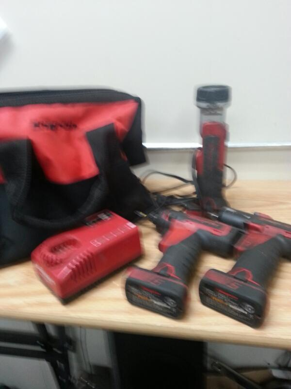 SNAP ON Cordless Drill CT761/CTS761/CTL761 COMBO