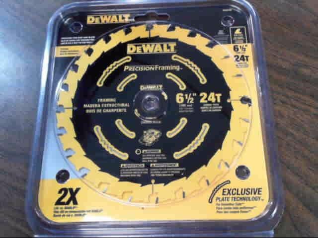 "DEWALT 6.5"" 24T BLADE DW9199"