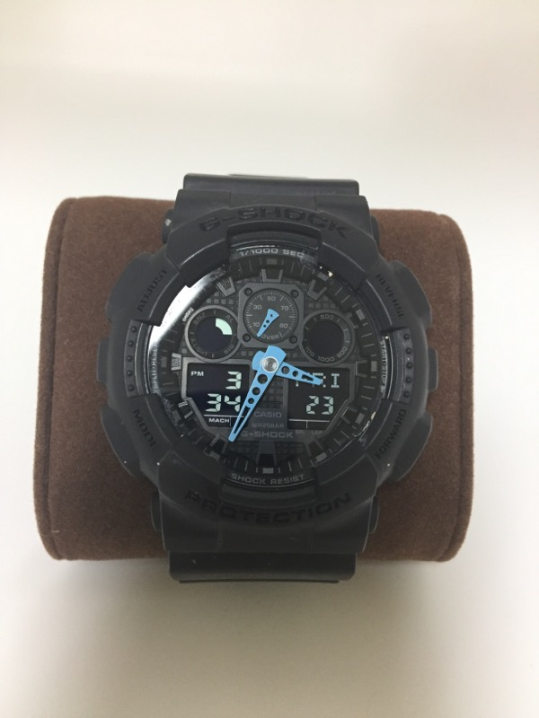 GSHOCK GA-100C WATCH   W/BOX GRAY
