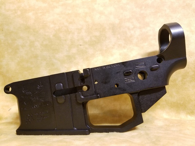 MKP Arms AR Billet Stripped Receiver - Made in Oklahoma