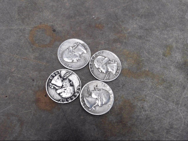 UNITED STATES Silver Coin QUANTITY SILVER QUARTERS - MIXED DATES/TYPES-PRE64