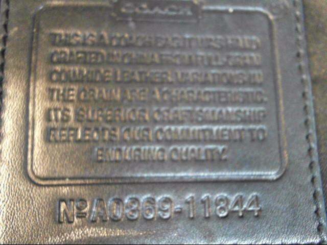 COACH SOHO LEATHER ZIP SATCHEL 11844