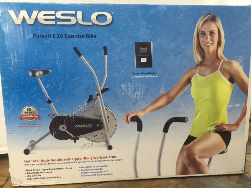 WESLO Exercise Equipment PURSUIT E 26