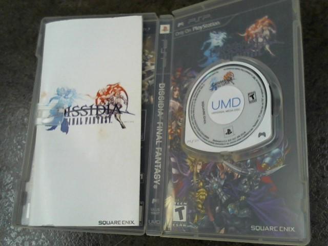 SONY Sony PSP Game FINAL FANTASY DISSIDIA (PSP)