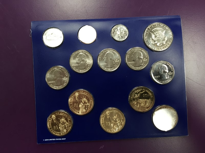 UNITED STATES Coin 2015 UNCIRCULATED PHILADELPHIA COIN SET
