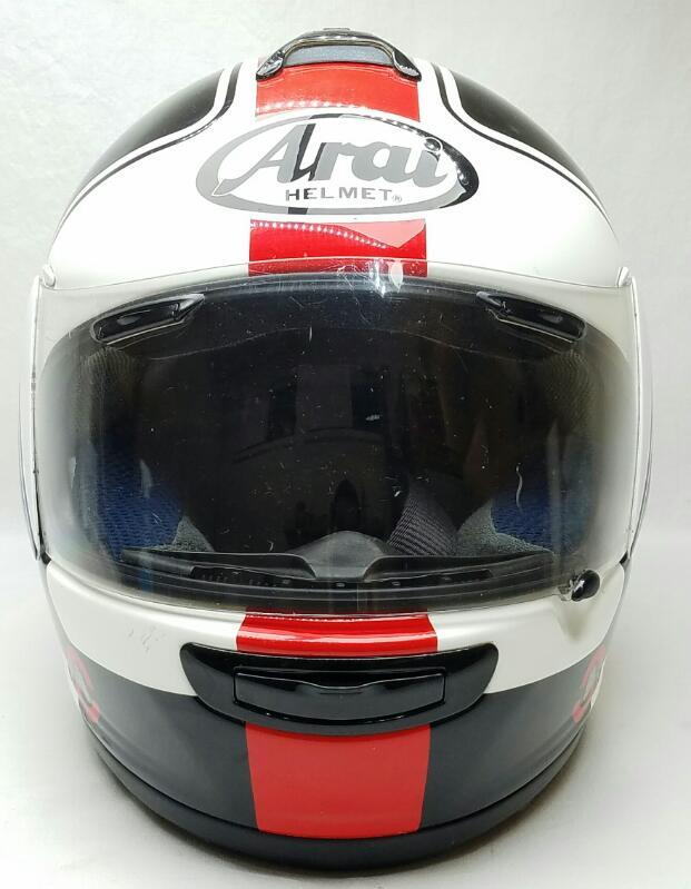 ARAI VECTOR 2 MOTORCYCLE HELMET SIZE: SMALL