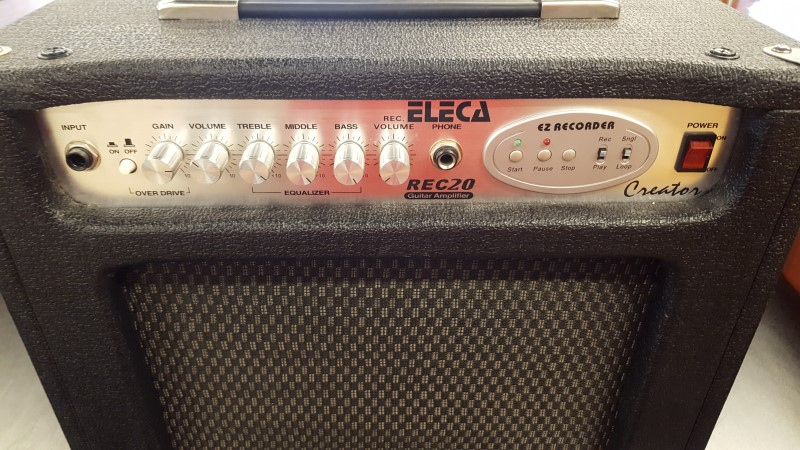 ELECA GUITARS Electric Guitar Amp REC20