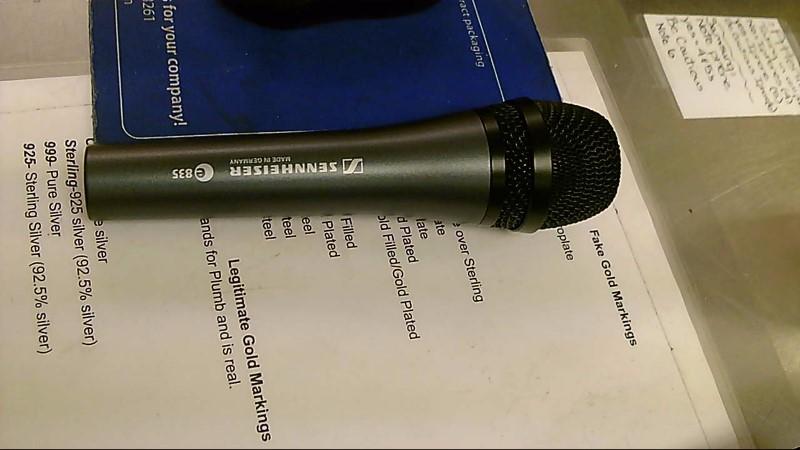SENNHEISER MICROPHONE E835