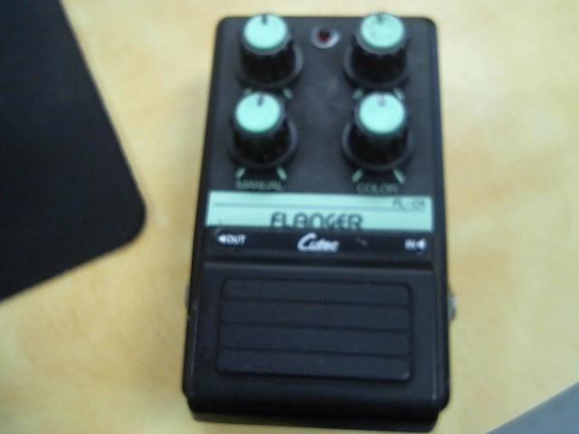 cutec flanger pedal
