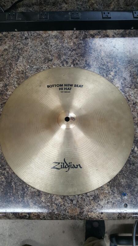 "Zildjian 14"" New Beat Hi Hat Pair, Top & Bottom Set Cymbal 14""/36c"