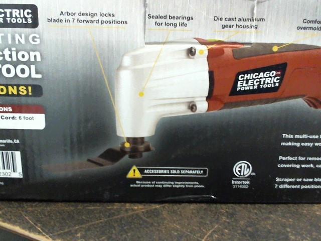 CHICAGO ELECTRIC Disc Grinder 62302