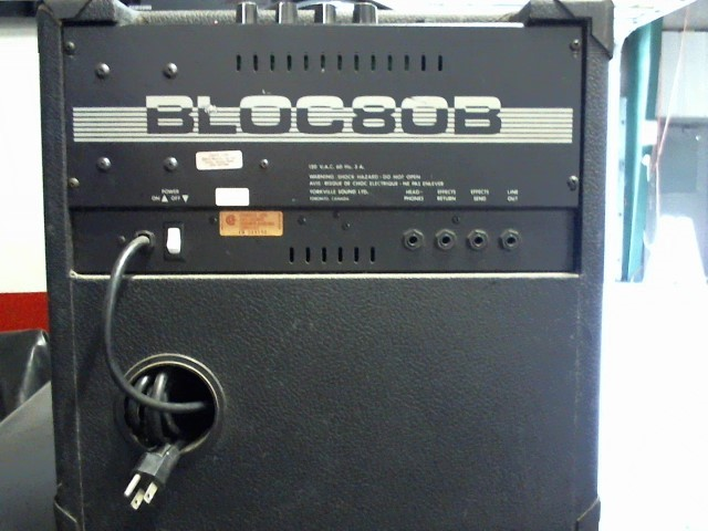 TRAYNOR Acoustic Guitar Amp BLOC80B