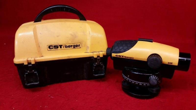 CST/Berger SAL 24 Automatic Level, 24x Magnification