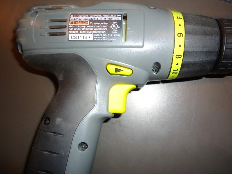 CRAFTSMAN Cordless Drill 315113861