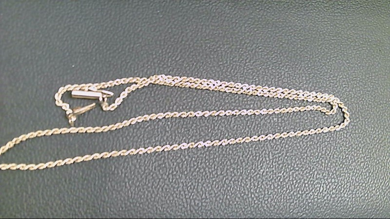 Gold Rope Chain 14K Yellow Gold 4g