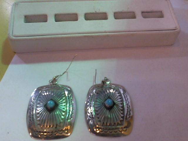 Silver Earrings 925 Silver 17.2g