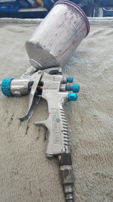 DEVILBISS Spray Equipment HVLP GRAVITY FEED PLUS