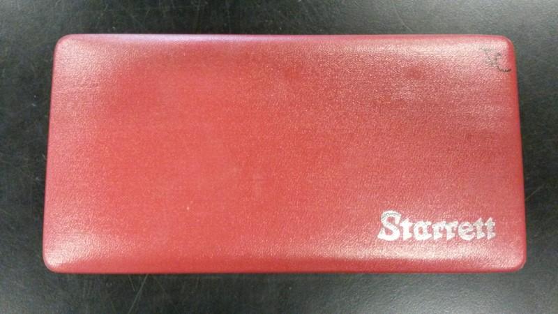 STARRETT Micrometer MICROMETER