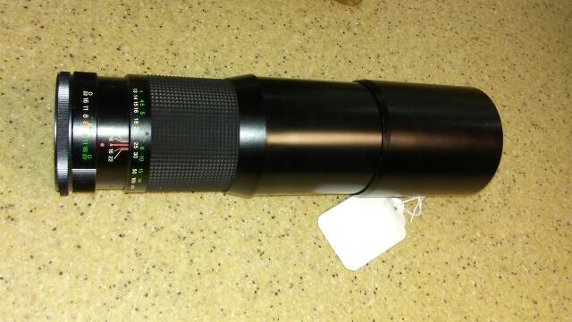 AS-IS Vivitar 400MM 1:5.6 Auto Telephoto Lens