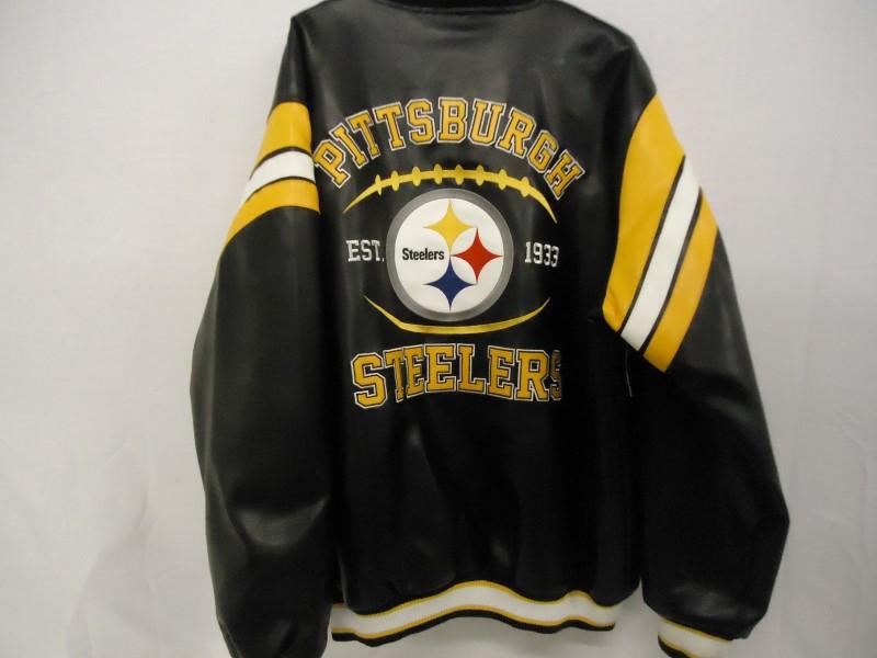 STARTER Clothing NFL LEATHER SPORTS JACKET