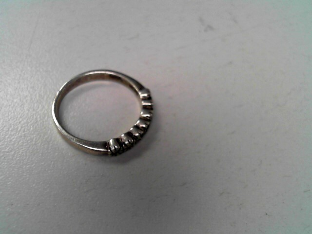 Lady's Silver Ring 925 Silver 2.2g Size:6.8