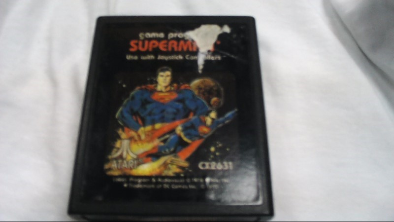 ATARI Vintage Game-Superman