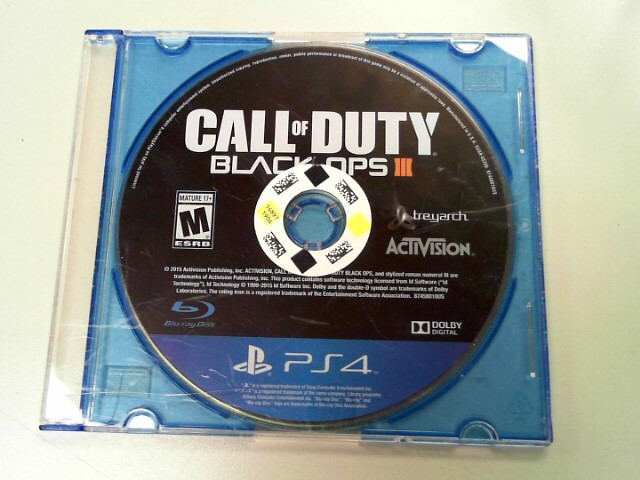 SONY Sony PlayStation 4 Game CALL OF DUTY BLACK OPS 3 PS4