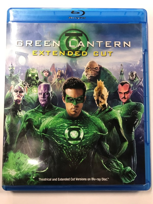 GREEN LANTERN (EXTENDED CUT) BLU-RAY MOVIE